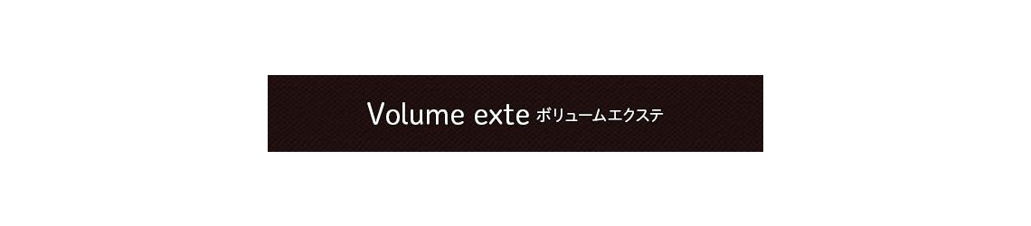 Volume exte ボリュームエクステ